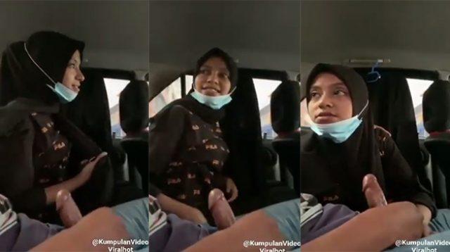 Bokep Indo Cewek Berhijab Menikmati Ngentot di Mobil
